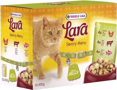 Pack 12 Sachets fraîcheur assortis LARA Tasty Savory Menu