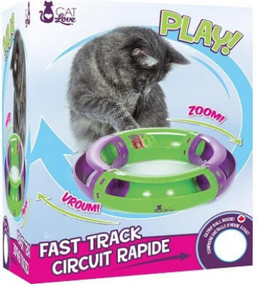 Juguete circuito rápido Cat Love Play
