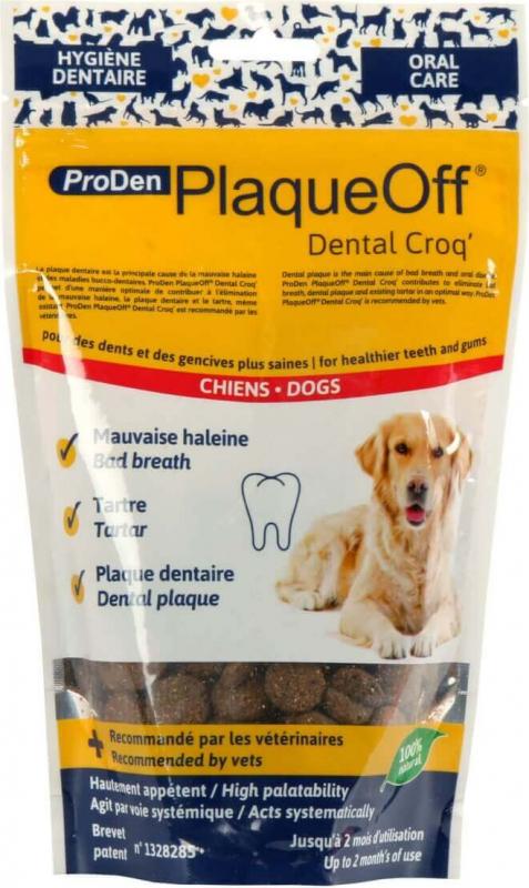 PlaqueOff ProDen Dental Croq' pour chien et chat