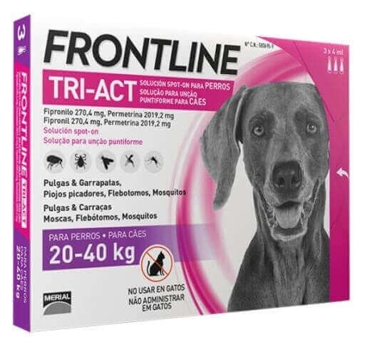 Frontline Tri-Act perro