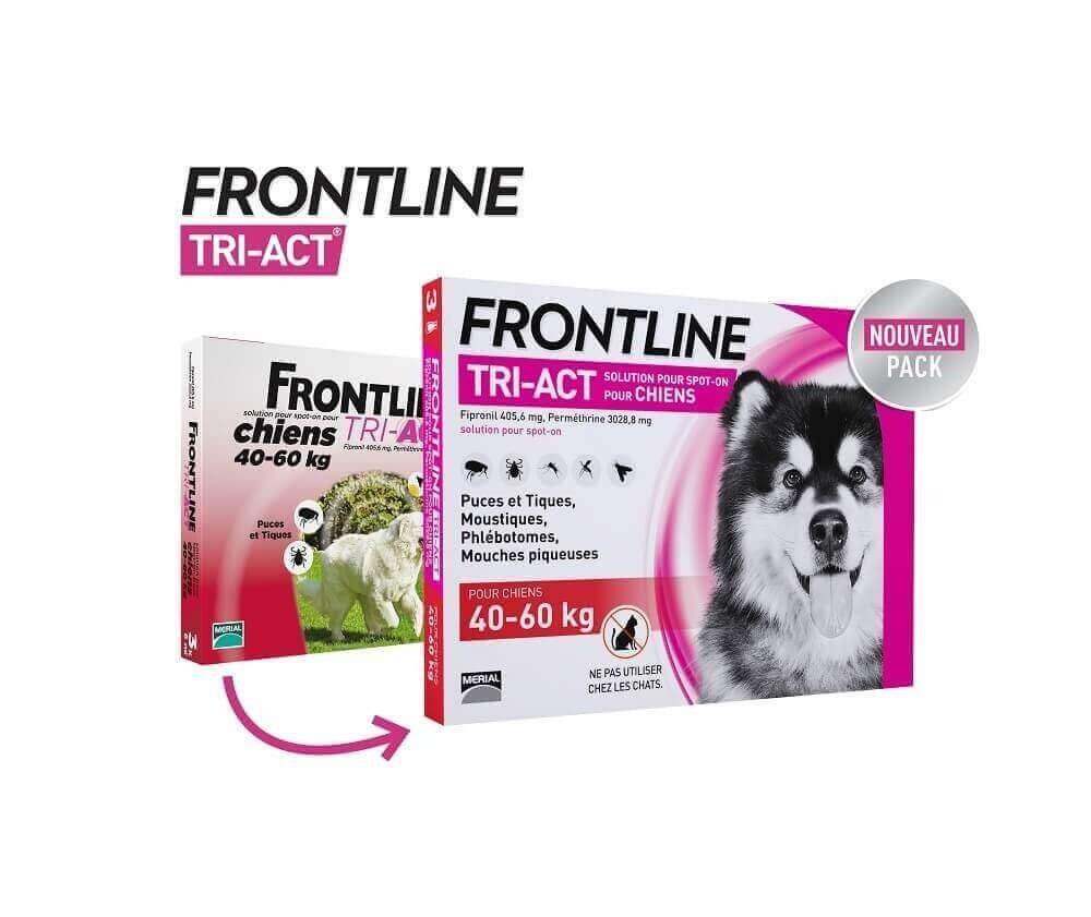 Frontline Tri-Act perro  _10