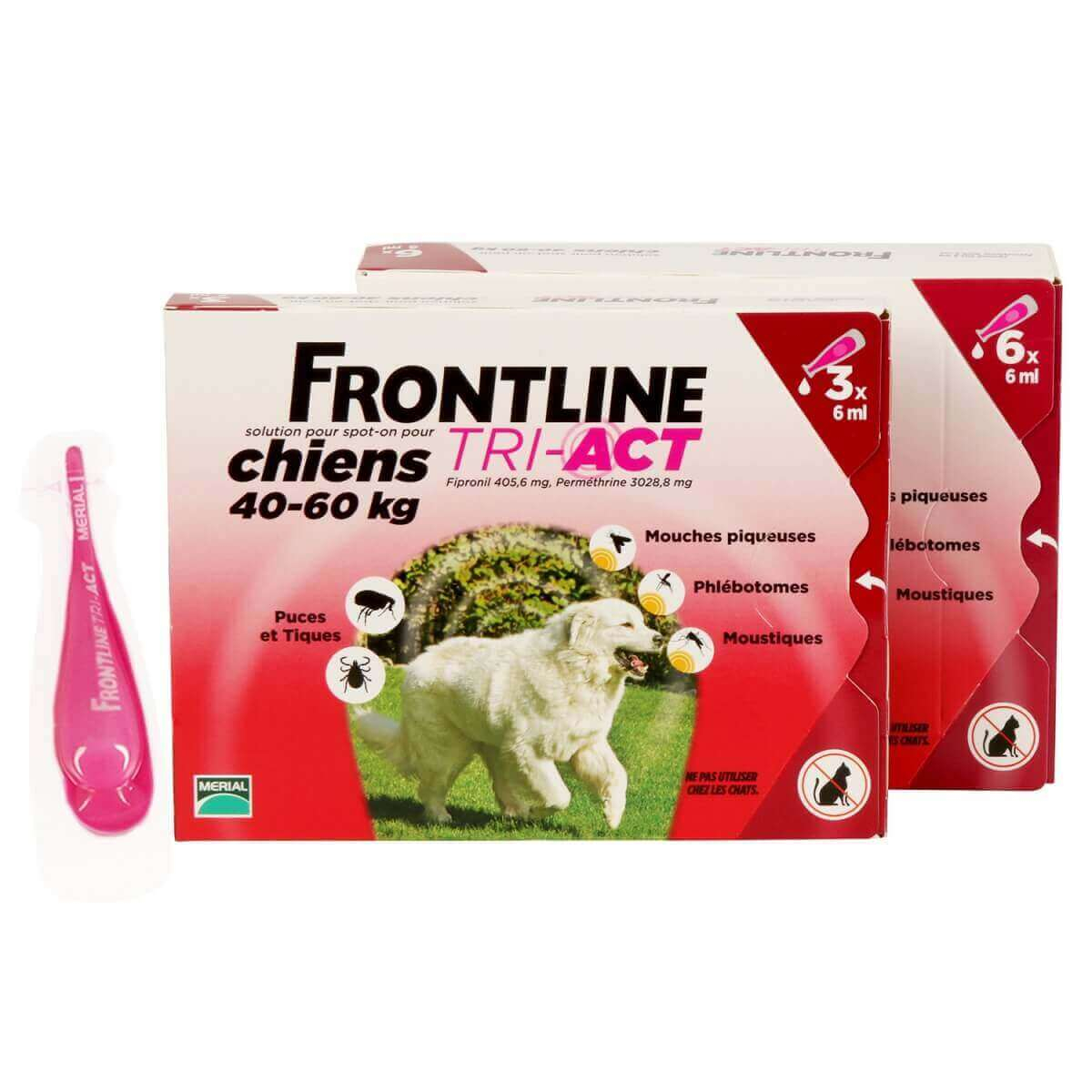 Frontline Tri-Act perro  _6