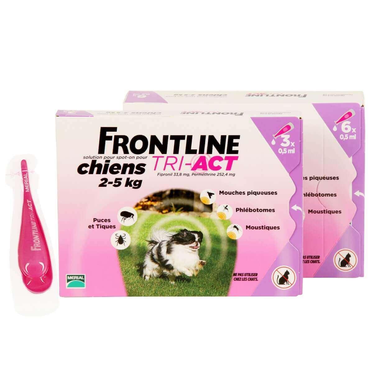 Frontline Tri-Act perro  _2