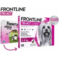 FRONTLINE TRI ACT Pipettes antiparasitaires pour chien
