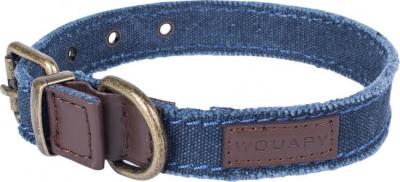 Collar VINTAGE azul desgastado
