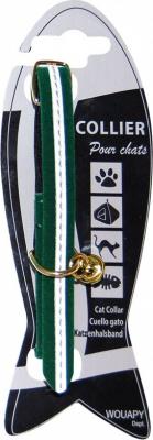 Collier chat velours réfléchissant - 4 couleurs au choix