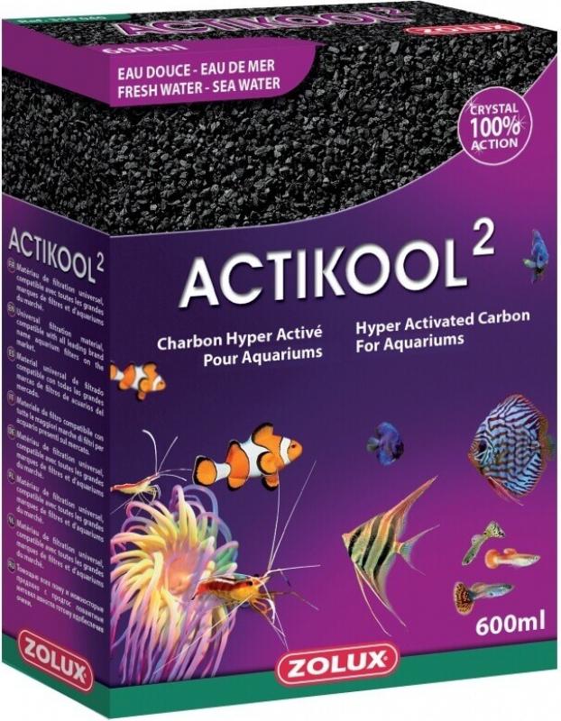 Charbon hyper activé minéral concassé ACTIKOOL 2