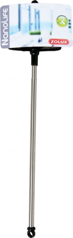 Epuisette inox triangulaire télescopique 10 cm