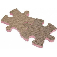 Griffoir chat PUZZLE (2 pièces)