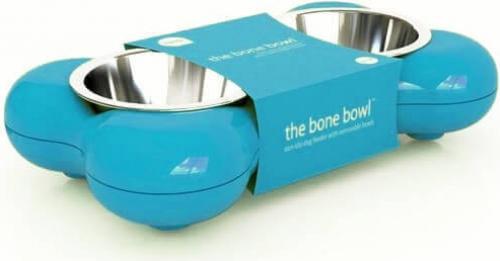 Comedero doble Bone Bowl