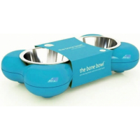 Comedero doble Bone Bowl