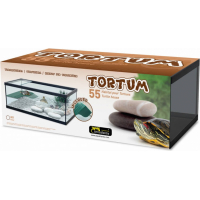 Aquarium Tortum ohne Filter, in schwarz