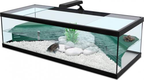 Aquarium Tortum mit Filter in schwarz