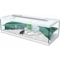 Aquarium Tortum avec filtre blanc