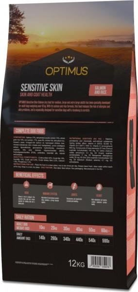 OPTIMUS Sensitive Skin Saumon & Riz