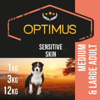 OPTIMUS Sensitive Skin Saumon & Riz pour chien