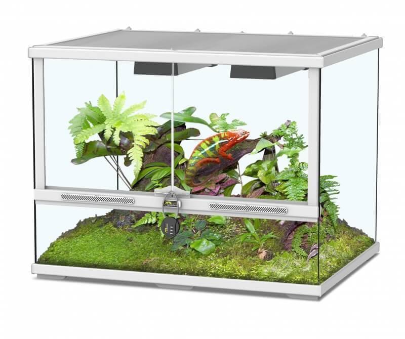 terrarium terratlantis smart line blanc terrarium et meuble. Black Bedroom Furniture Sets. Home Design Ideas