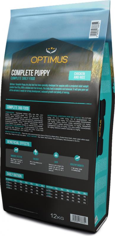 OPTIMUS Complete Medium/Large Puppy