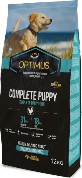 OPTIMUS Puppy Complete pour Chiot de Moyenne et Grande Taille