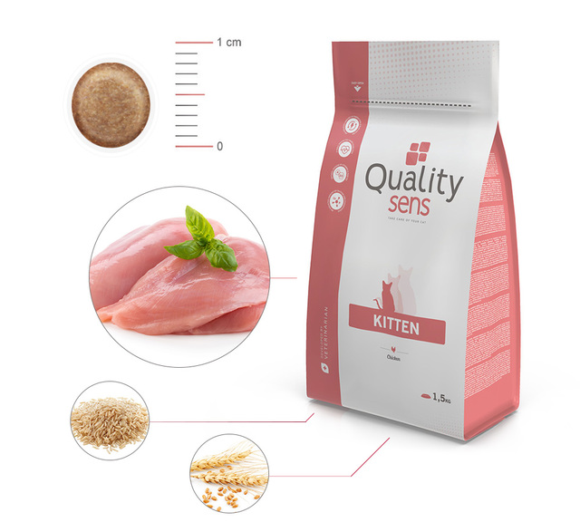 ingredients Quality sens Zoomalia pour chatons