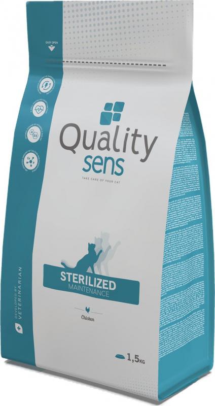 QUALITY SENS Light/ Sterilized Maintenance para Gato Esterilizado o con sobrepeso