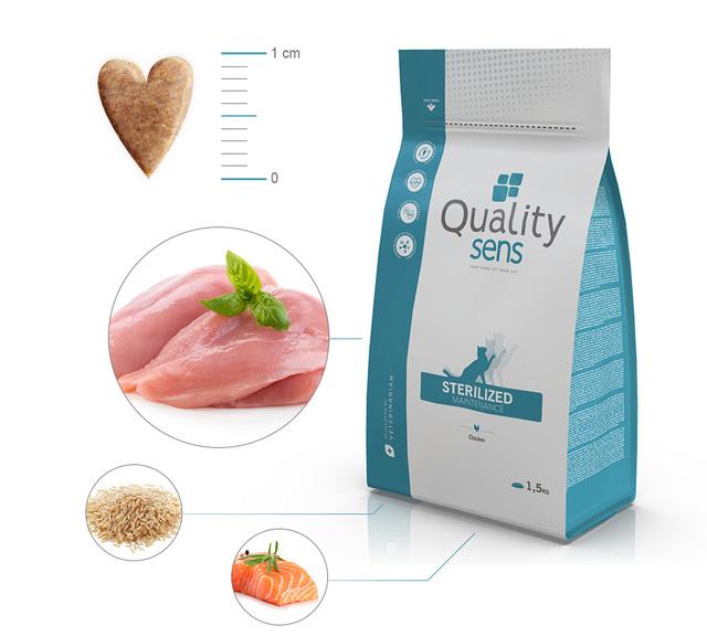 ingredients croquettes quality sens sterilized maintenance