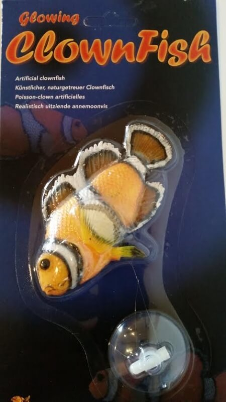 Poisson clown artificiel d cor fantaisie for Poisson clown achat