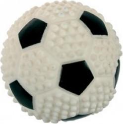 Jouet balle de foot pour chien 7,6 cm vinyl