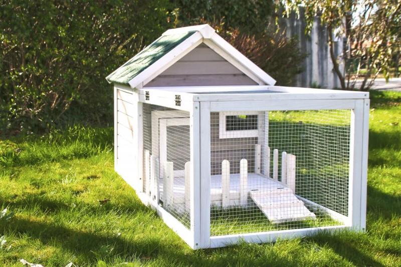 Stall für Kaninchen und Nagetiere Alora