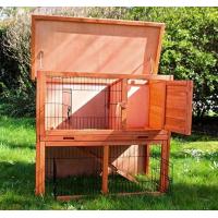 Clapier lapin et rongeurs ZOLIA Belino avec cour extérieure et tiroir (2)
