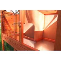 Clapier lapin et rongeurs ZOLIA Belino avec cour extérieure et tiroir (4)