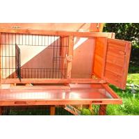 Clapier lapin et rongeurs ZOLIA Belino avec cour extérieure et tiroir (3)