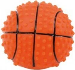 Jouet balle basket pou chien 7,6 cm vinyl