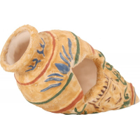 Aquariendekoration Vase mit Hieroglyphen