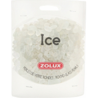 Perles de verre Ice