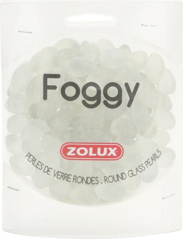 Perles de verre Foggy