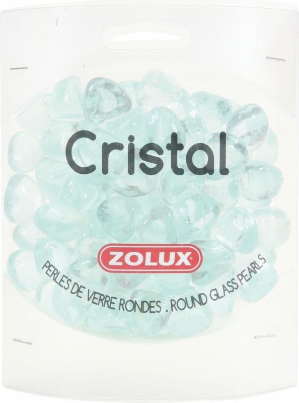 Perles de verre Cristal