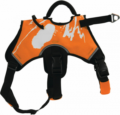 Harnais de traction Canisport orange