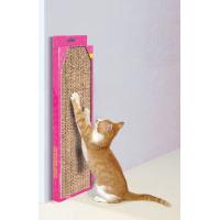 Rascador de cartón con Catnip. Modelo grande