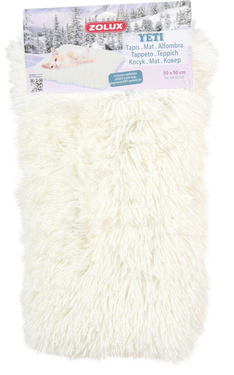 Yeti Teppich in weiß  Steppdecken und Überwürfe