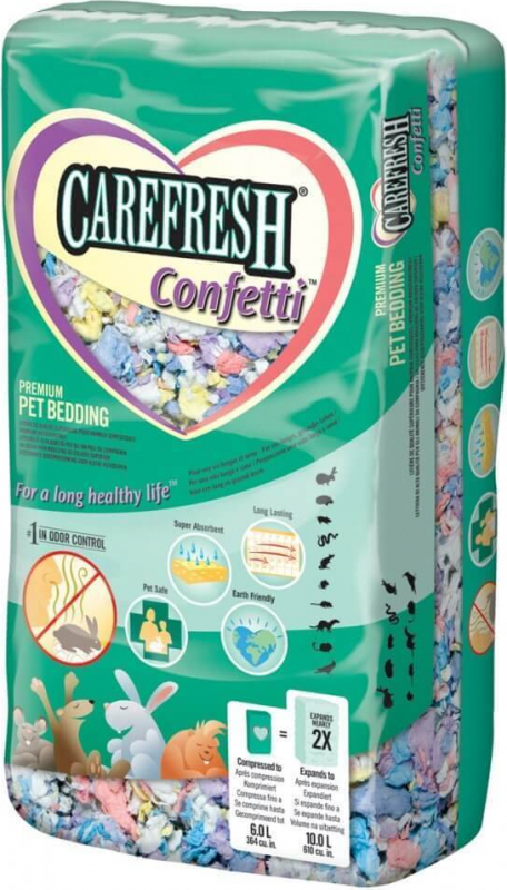 Litière CAREFRESH Confetti 10L