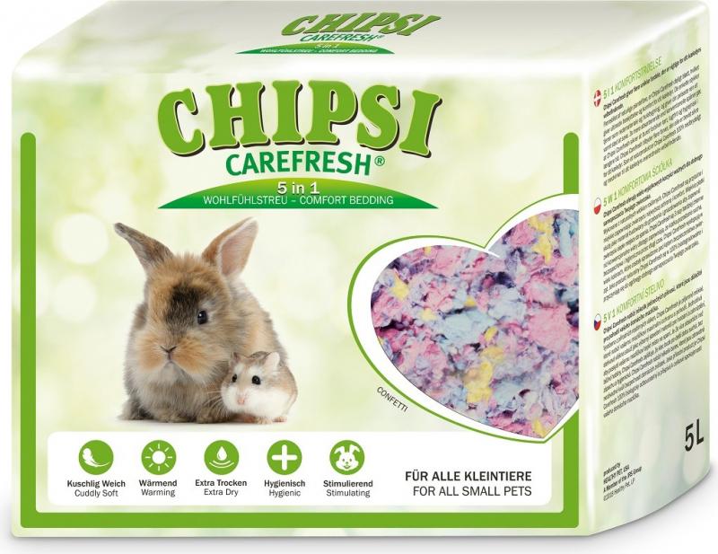Litière Carefresh Confetti pour petits mammifères