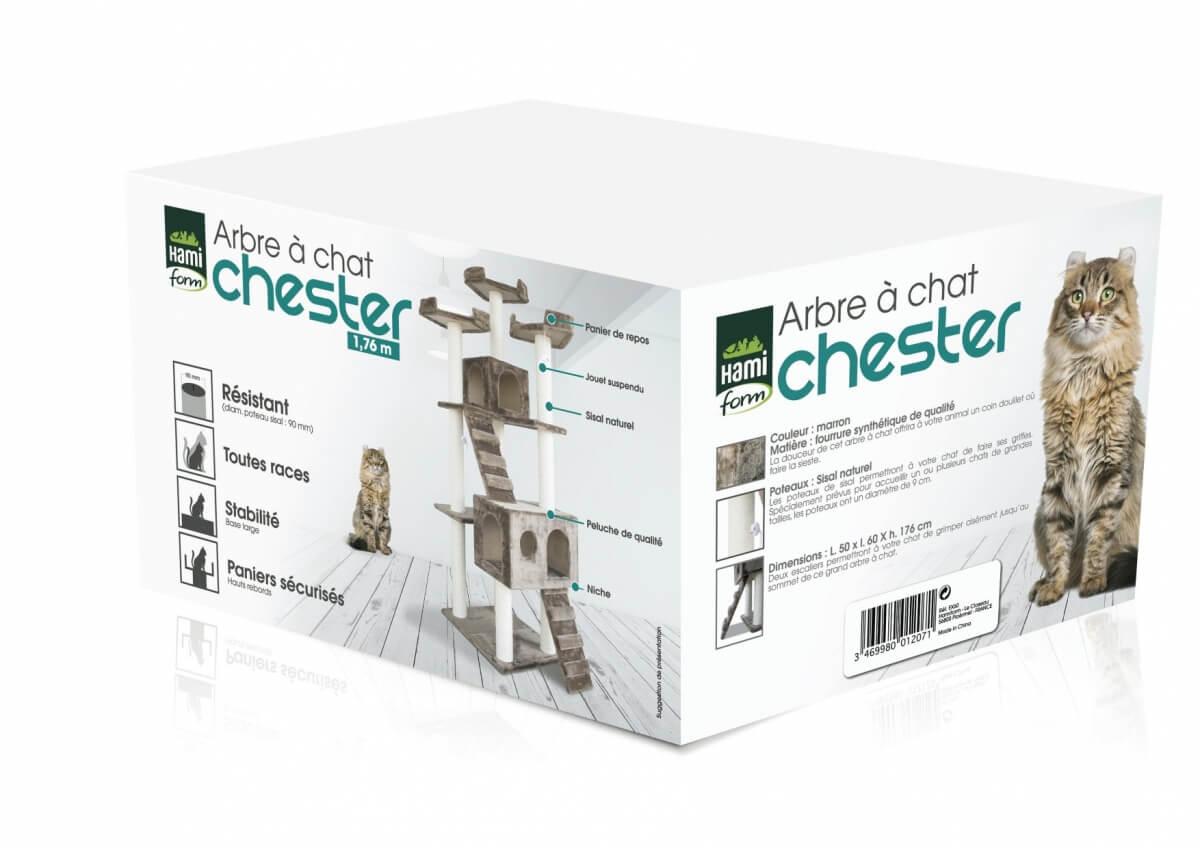 Árbol para gato Chester 1.76 m_1