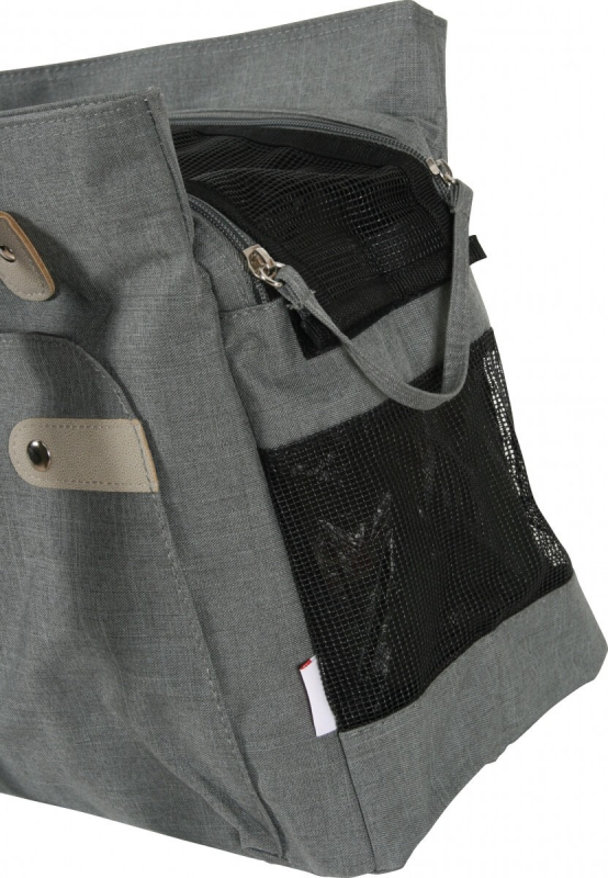 93e84442c Bolso de transporte Soho color gris.