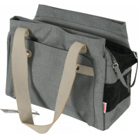 Bolso de transporte Soho color gris.