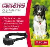 Collier anti-aboiement Zolia BARKING STOP