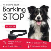 Collier anti aboiement Zolia BARKING STOP (1)