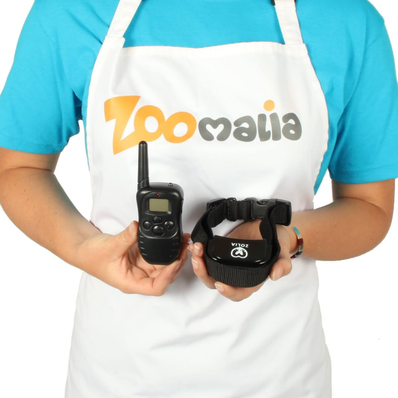 Collier de dressage ZOLIA DOGTRAINING 200 avec vibration ou stimulation