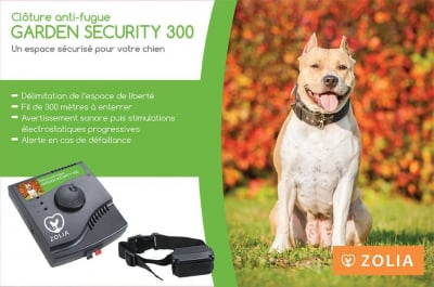 Clôture anti-fugue ZOLIA GARDEN SECURITY 300