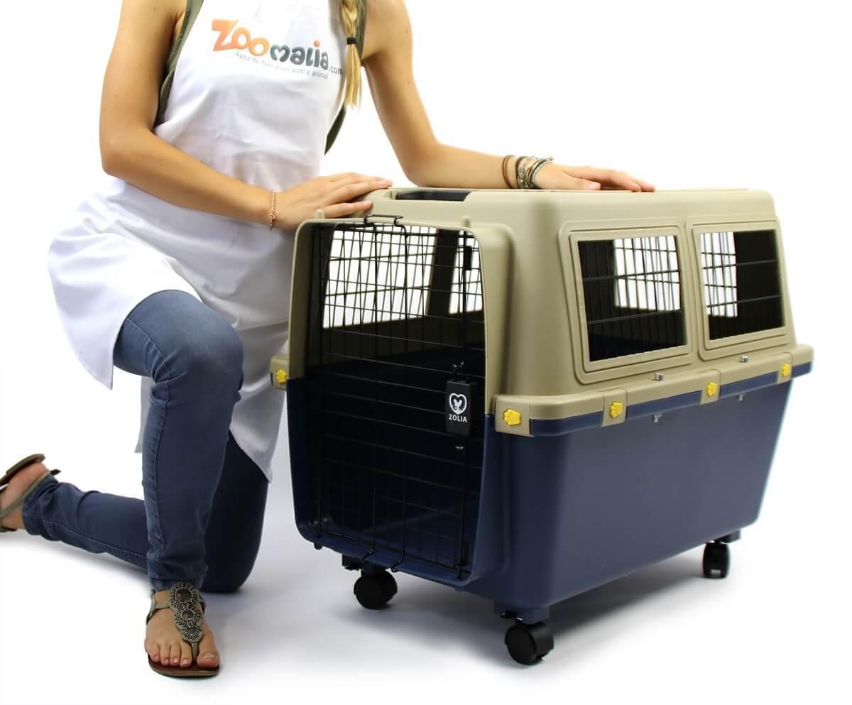 Transportín para perro TRAVELER IATA  ZOLIA de 80 cm a 100 cm _0